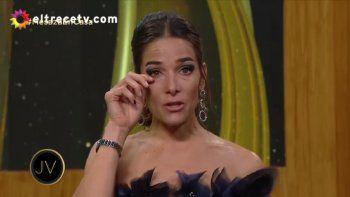 Juana Viale se quebró al recordar a la uru: No se fue, solamente cambió de piel