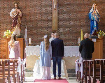 Todos los detalles del casamiento de Abel Pintos y Mora Calabrese