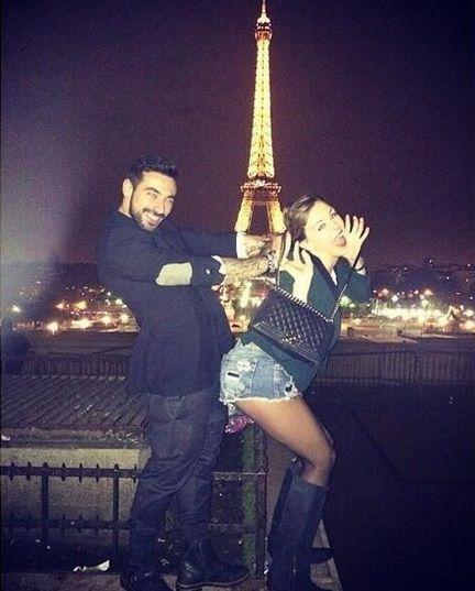 El Pocho Lavezzi y Yanina Screpante, hot en las redes sociales.
