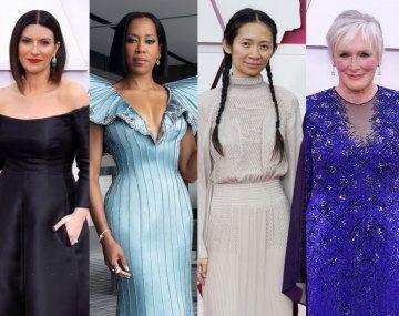 Premios Oscar 2021: los looks de la alfombra roja