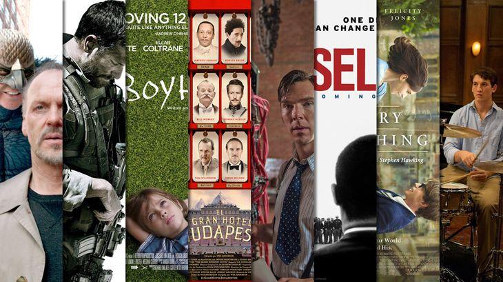 Éstas son las candidatas a Mejor Película