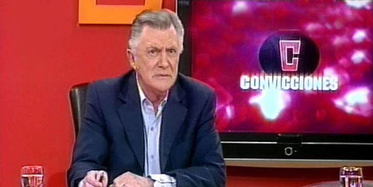 Luego de los conflictos, Lucho Avilés se despidió de la televisión