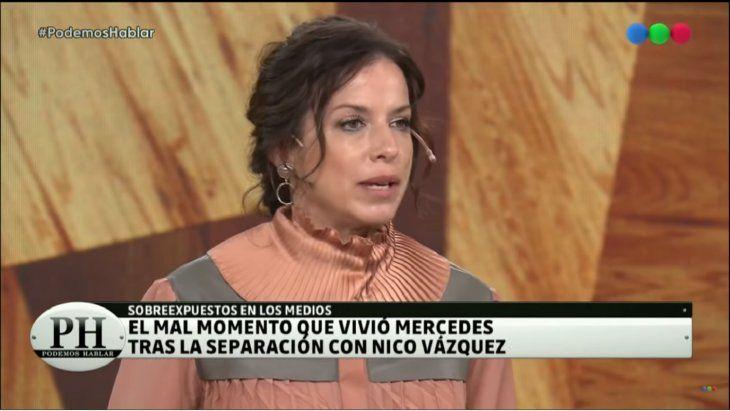 Mercedes Funes habló sobre su divorcio con Nicolás Vázquez: La pasé mal