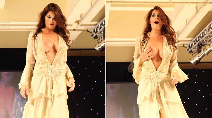 El topless despechado de Magalí Mora