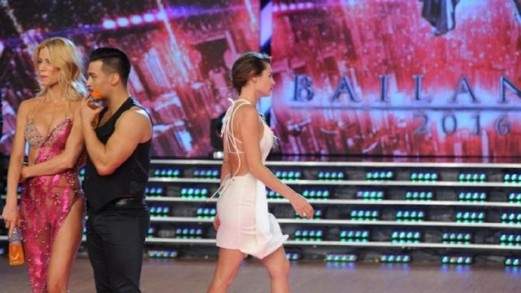 Pampita recordó la vez que abandonó el Bailando en vivo