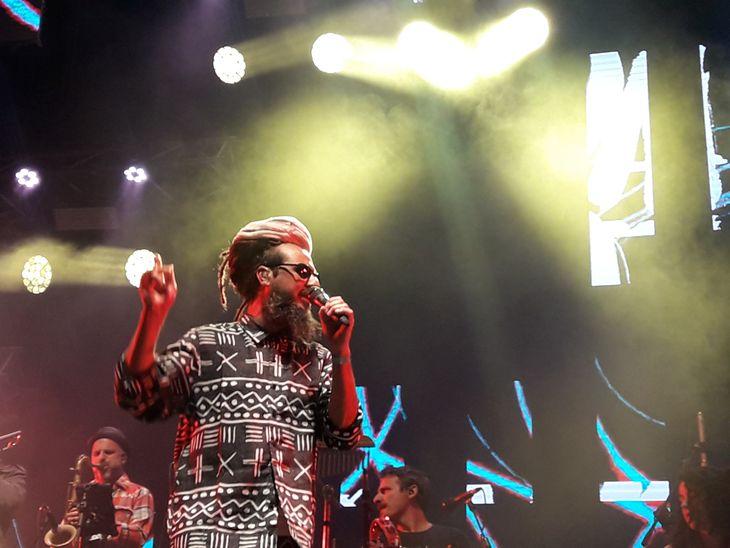 Mega 98.3 transmitió el Festival Rock en Baradero