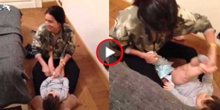Los divertidos videos de Zaira y Wanda Nara