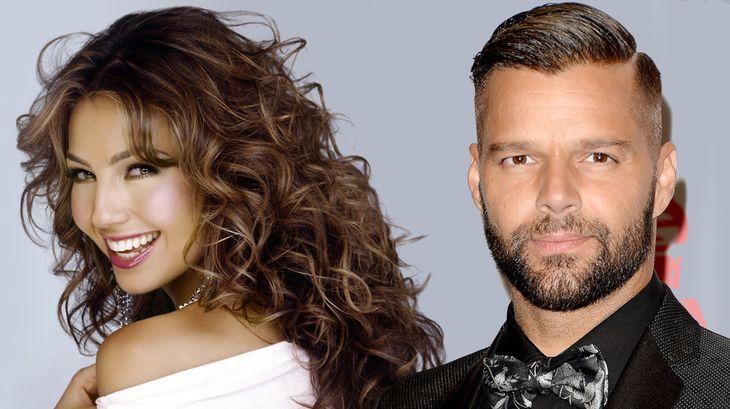 Thalía y Ricky Martin harán las voces de una reconocida película infantil