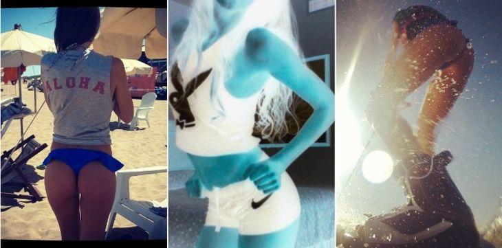La diosa del clan Tinelli que revolucionó las redes sociales con sus fotos hot