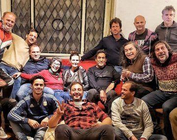 El reencuentro del elenco de Okupas en medio del éxito en Netflix