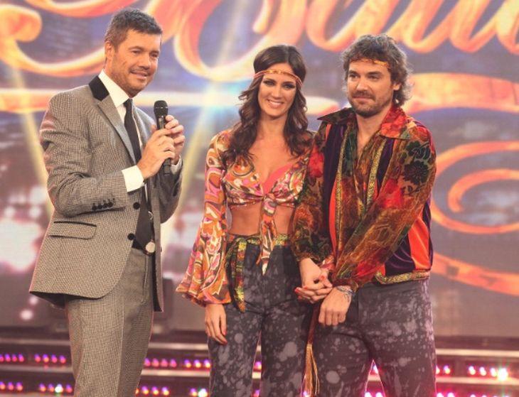 Paula y Peter abrieron la gala del lunes en Showmatch