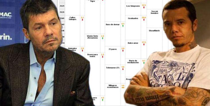 Marcelo Tinelli y Sebastián Ortega, se verán las caras dos veces en una semana