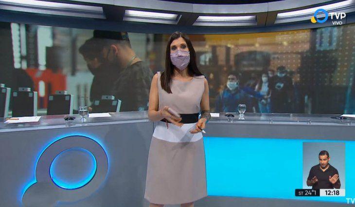 Tras la muerte de Mauro Viale, avanza la campaña para que conductores de televisión usen barbijo