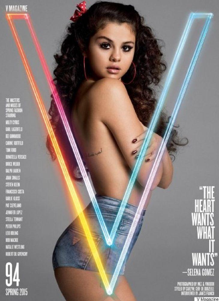Las fotos de Selena Gomez en topless para una revista