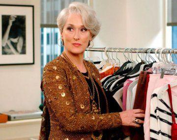 La dura confesión de Meryl Streep sobre la filmación de El diablo viste a la moda