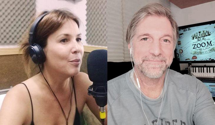 Úrsula Vargues y Horacio Cabak