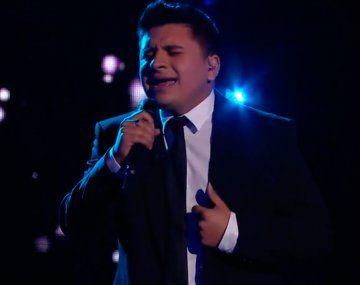 La Voz Argentina: Francisco Benítez cantó un clásico de Luis Miguel y emocionó a todos