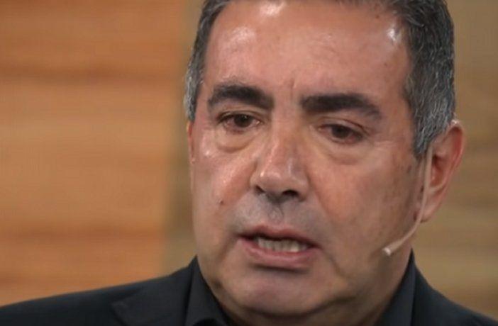 Diego Pérez se angustió por la situación de sus papás, internados en un hogar