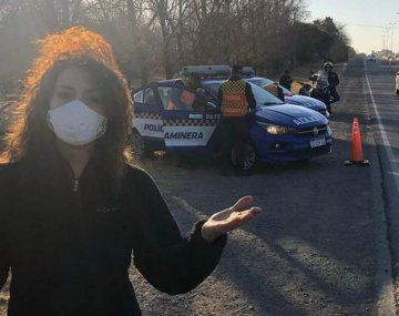 Patricia Sosa fue multada por la Policía: iba a 120 kilómetros por hora