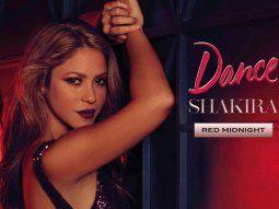 shakira celebra el decimo aniversario de sus fragancias con el lanzamiento de red midnight