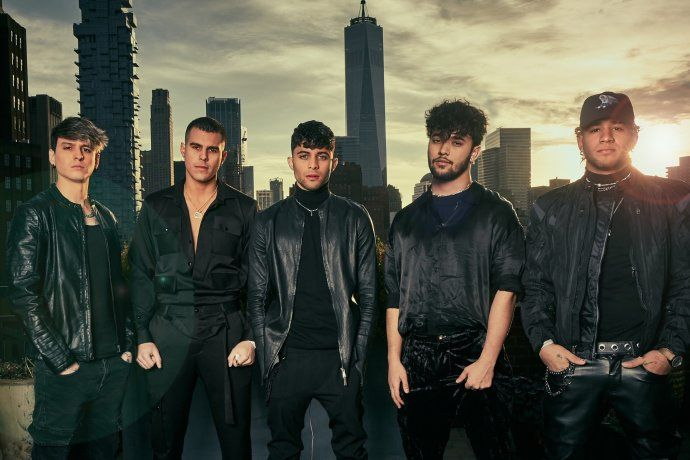 CNCO, rey absoluto del Ranking Vale