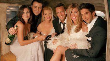 La reunión de Friends terminó su rodaje con cinco de los seis actores originales: el ausente