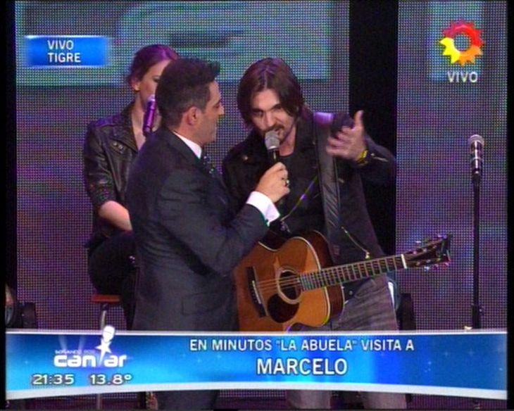 El Súper Martes de la tele: Soñando por cantar con Juanes ganó la primera noche