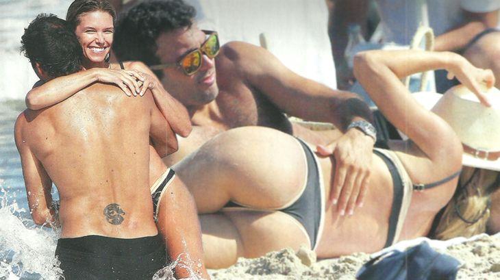 Las vacaciones hot de Sofía Zamolo y su novio: mimos atrevidos en la playa