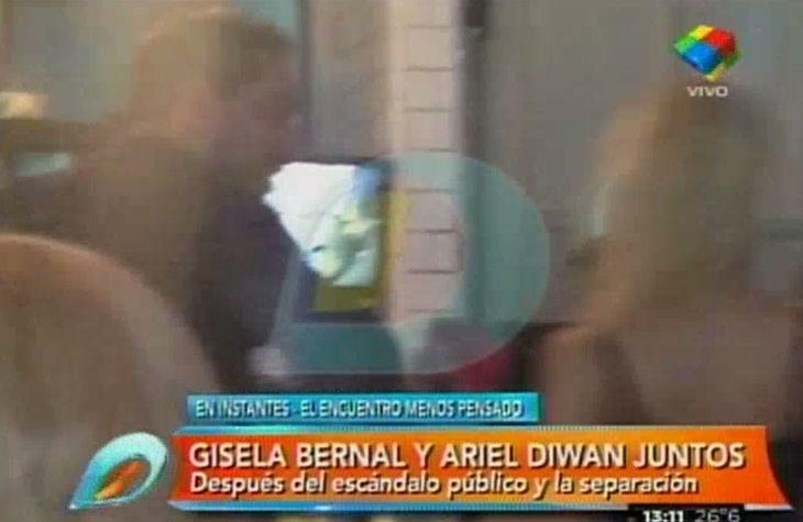 Las fotos del reencuentro de Ariel Diwan y Gisela Bernal en Palermo