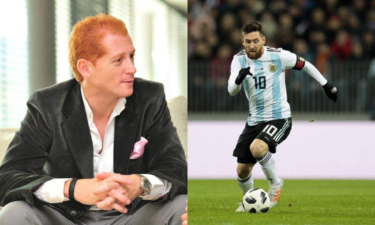 Martín Liberman, en guerra con el Cholo Sottile por Lionel Messi