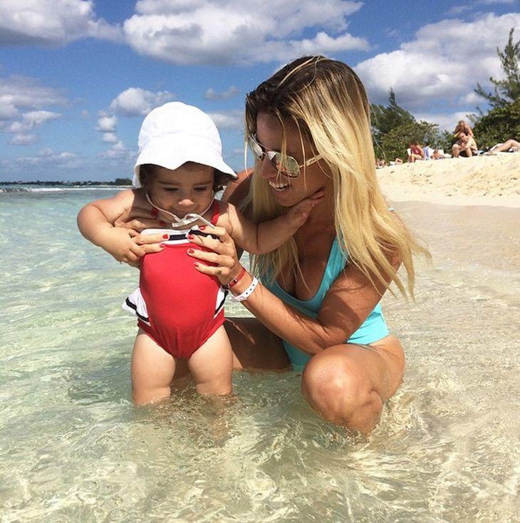 Las vacaciones de Rocío Guirao Díaz con su familia en Jamaica