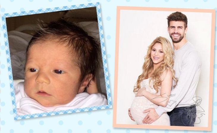 Shakira y Piqué presentaron a Sasha, su segundo hijo